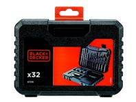 Black & Decker Mixed Accessory Set - 32 Piece
